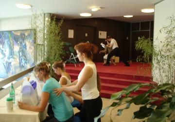 Massage, oxygénation et bien-être